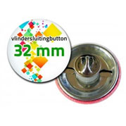 Vlindersluiting buttons