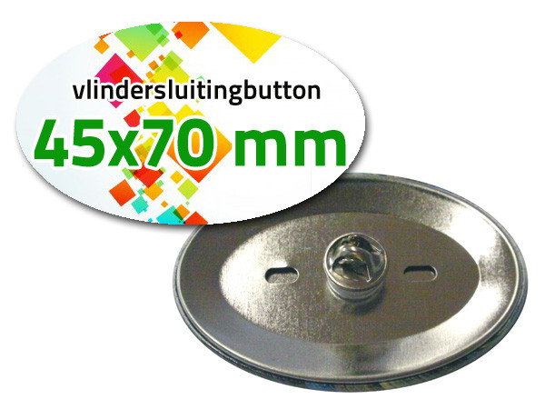 45x70 mm Vlindersluiting