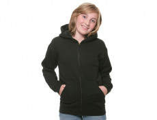 Kids Zip Hooded Sweat Jacket