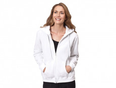 Ladies FullZip Hooded Sweater