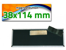 38x114 mm Magneetbutton dubbel