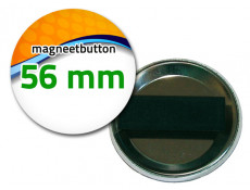 56 mm Magneetbutton dubbel