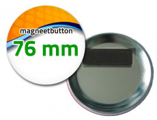 76 mm Magneetbutton dubbel